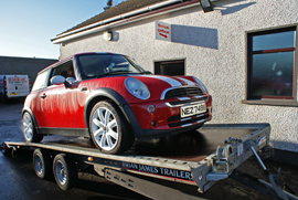 Vehicle Transport - Dedicated car transport Northern Ireland